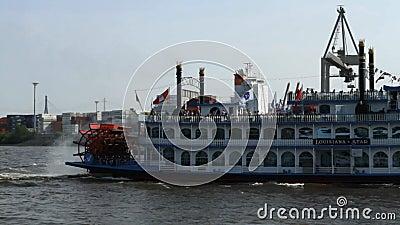 Barca de la estrella de Lousiana