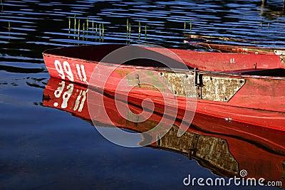 Barca e riflessione