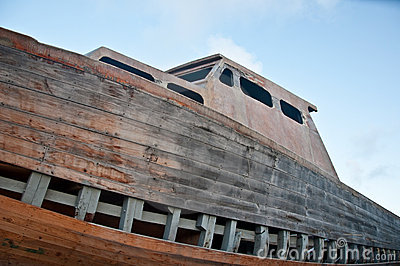 Barca naufragata