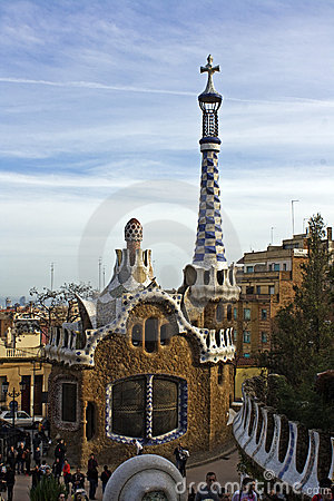 Barcelona Editorial Stock Image