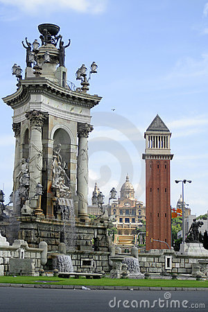 Free Barcelona Architecture Royalty Free Stock Photo - 1166585