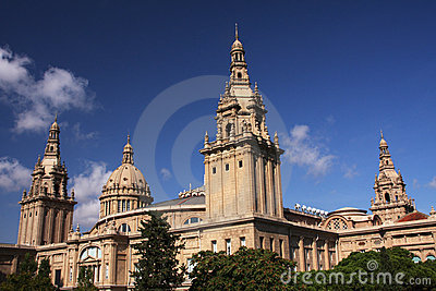 Barcelona Architecture Royalty Free Stock Image - Image: 21423506