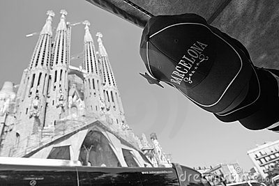 Barcelona cap Editorial Photography