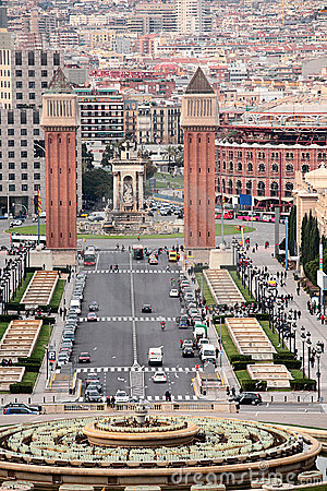 Free Barcelona City Stock Images - 12182614