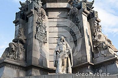 Barcelona Columbus monument fr