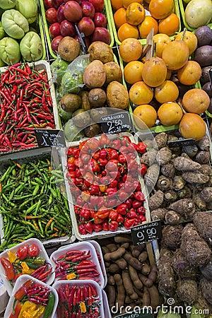 Barcelona - The Famous Food Market - Spain