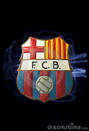 Barcelona FC logo Editorial Photography