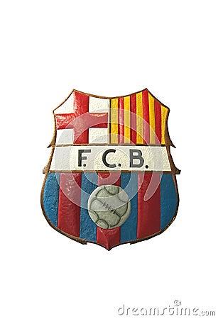 Barcelona FC logo Editorial Photography