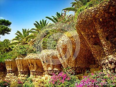 Barcelona Gaudi s Guell park