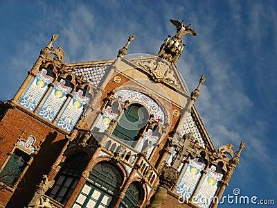 Barcelona,Hospital Sant Pau 07
