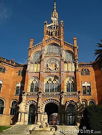 Barcelona,Hospital Sant Pau 12