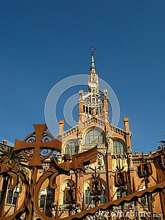 Barcelona,Hospital Sant Pau 13