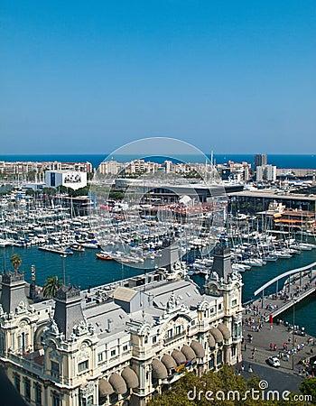 Barcelona marina Editorial Photography
