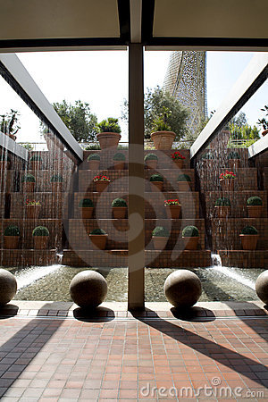 Barcelona - Modern Fountain Stock Photos - Image: 11633183