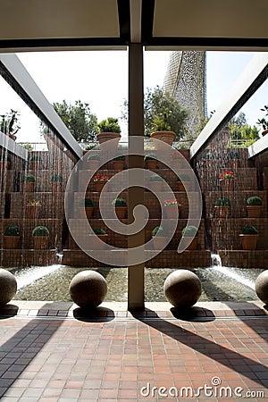 Barcelona - modern fountain