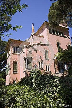Barcelona - museum of Gaudi