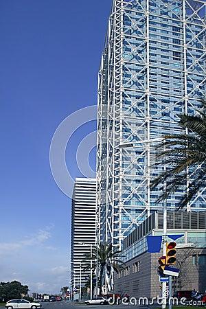 Barcelona Olimpic Villa buildings skyscrapers