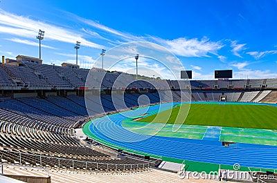 Barcelona. Olympic stadium