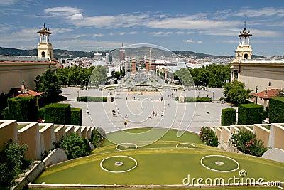 Barcelona / Plaza de Espana