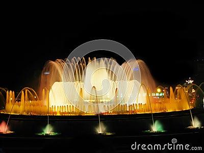 Barcelona s magic fountain