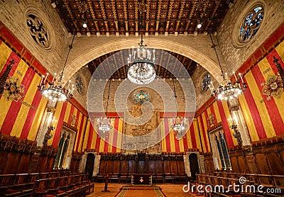 Barcelona s Town Hall, Barcelona, Spain