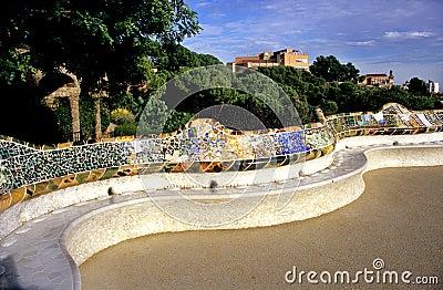 Barcelona s Wavy Bench