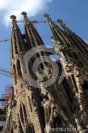Barcelona- Sagrada Familiar
