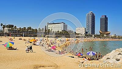 Barcelona, Spain Editorial Stock Image