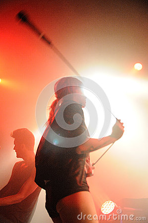 The Sounds band performs at Apolo Editorial Photography
