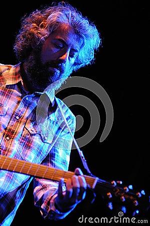 Sr Chinarro band performs at Apolo Editorial Stock Photo