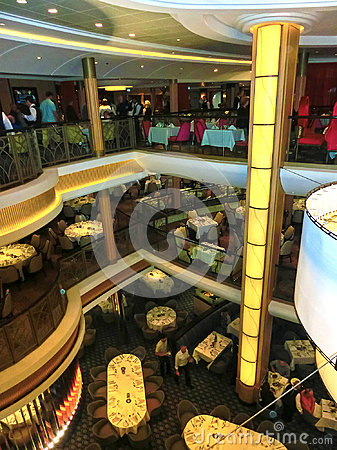 Free Barcelona, Spain - September 06, 2015: Royal Caribbean, Allure Of The Seas Stock Images - 98416704