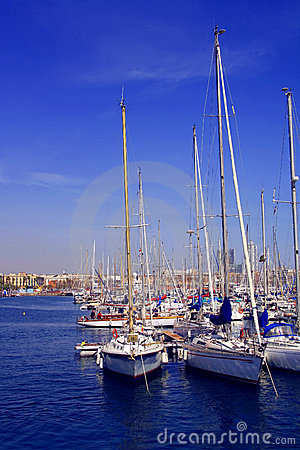 Barcelona, spanish harbour