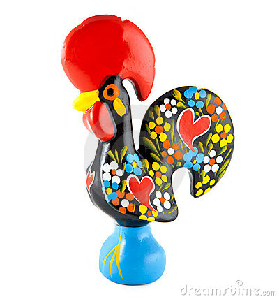 Free Barcelos Rooster. Portugal Royalty Free Stock Image - 9703266