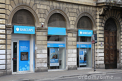 Barclays bank Editorial Stock Image