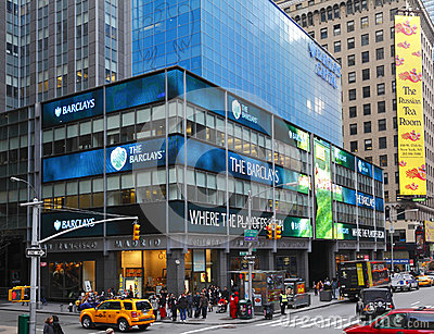 Barclays bank Editorial Stock Image