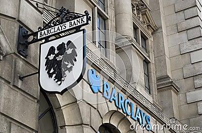 Barclays Bank Logo Editorial Stock Photo