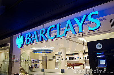 Barclays Bank, St Albans, England Editorial Photography