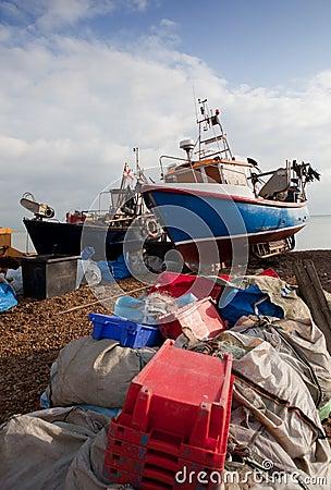 Barco da traineira de Inglaterra da indústria de pesca