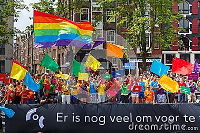 Fiesta del orgullo gay de msterdam - holandalatinacom