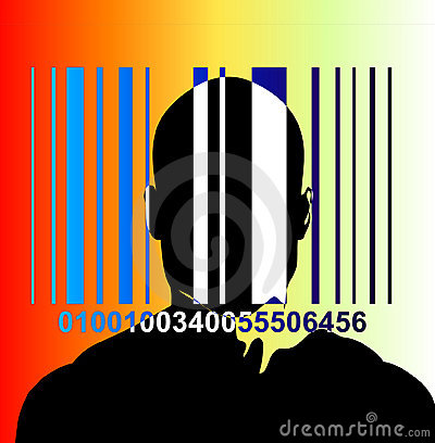 Barcode And Man 6