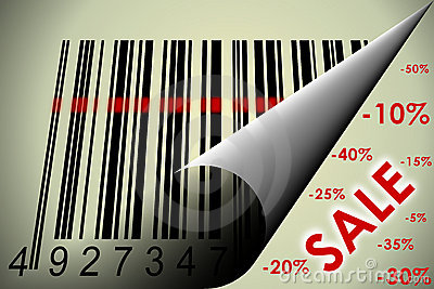 Barcode and sale