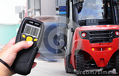 Barcode-Scanner Stockfotos - Bild: 26948253