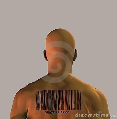 Barcoded Man