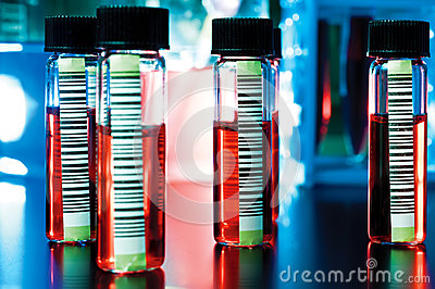 Barcodes on medical samples