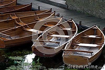 Barcos de enfileiramento