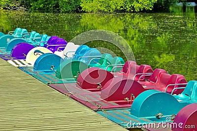Barcos de pá
