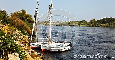Barcos del Nilo