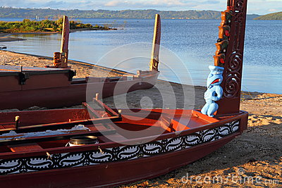 Barcos maoríes