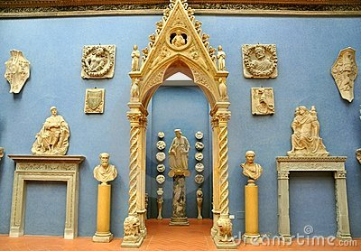 Bardini Museum in Florence, Italy Editorial Stock Photo