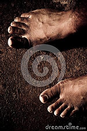 Free Bare Feet Royalty Free Stock Image - 20966136